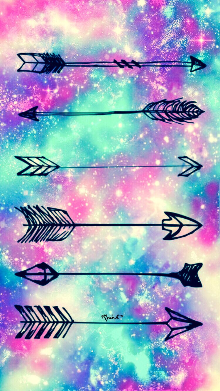 Cute Tribal Patterns Wallpaper Galaxy Arrows Hipster Wallpaper Wallpaper Creations