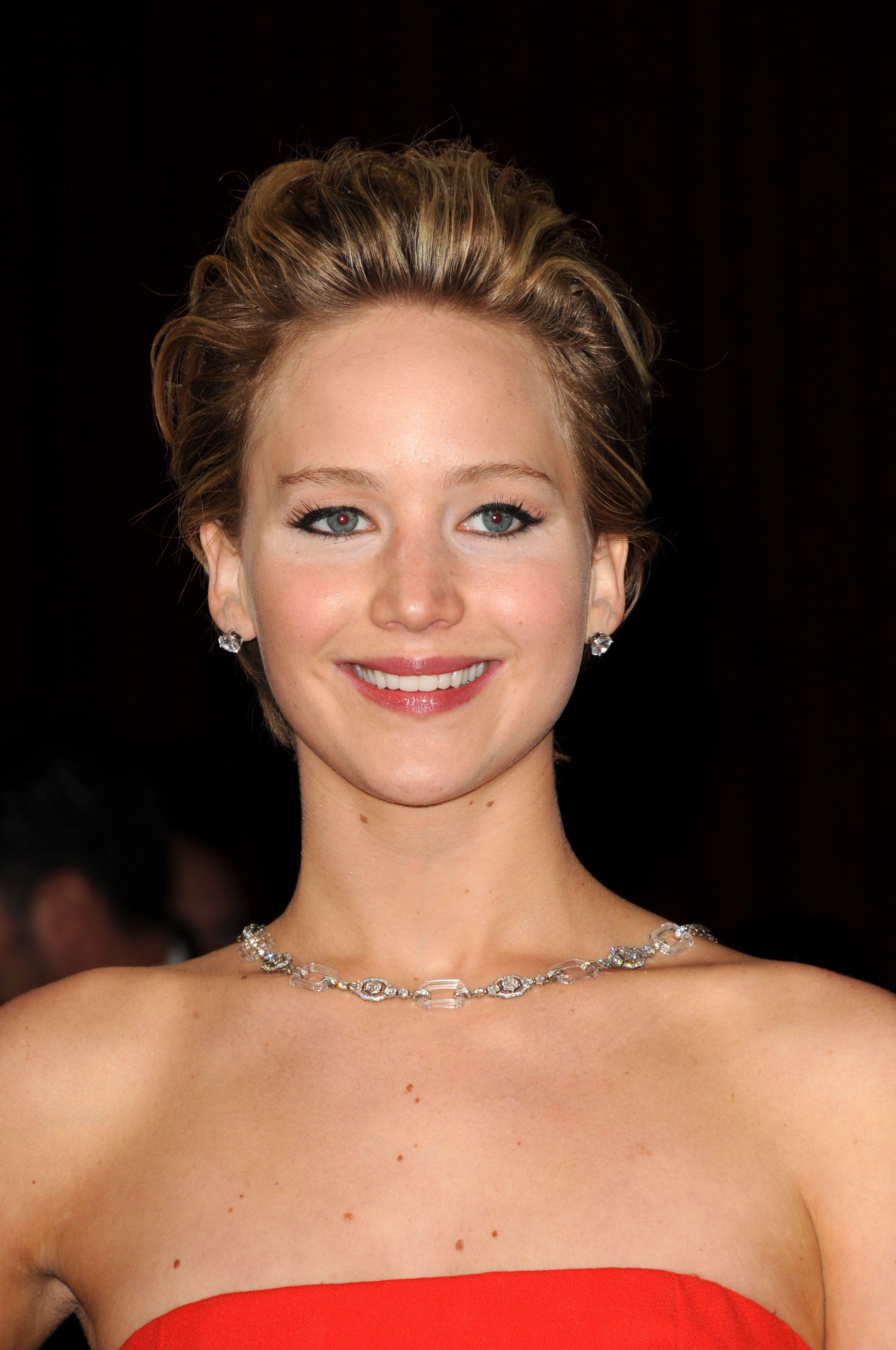 Jennifer Lawrence - 86th Annual Academy Awards - Oscars ...