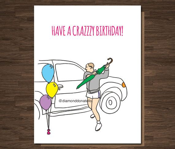 15 Must See Funny Birthday Wishes Pins: Britney Spears Design: Front: Have A Crazzzy Birthday