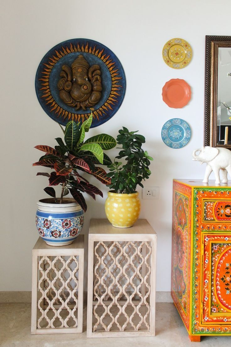 Rustic Indian Decor could totall DIY