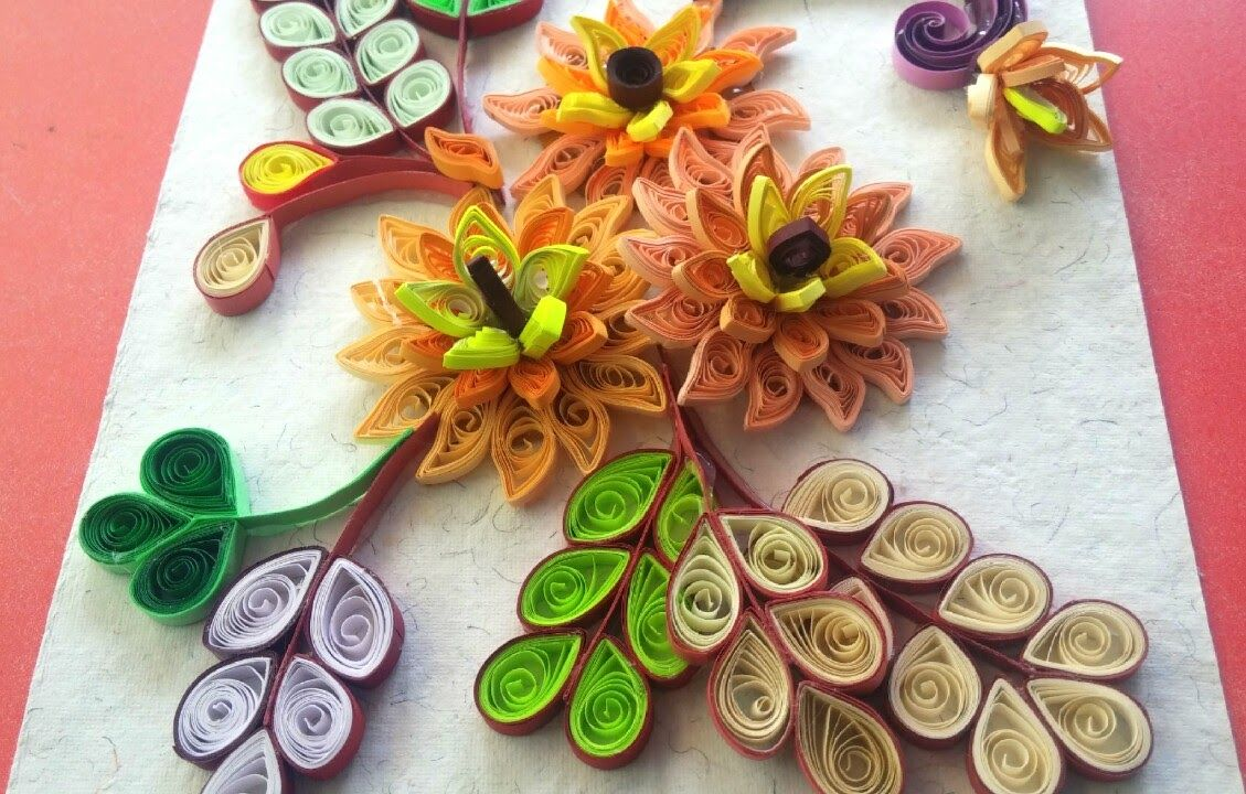 Paper Quilling Yellow Flower Quilling Flower Pinterest Paper