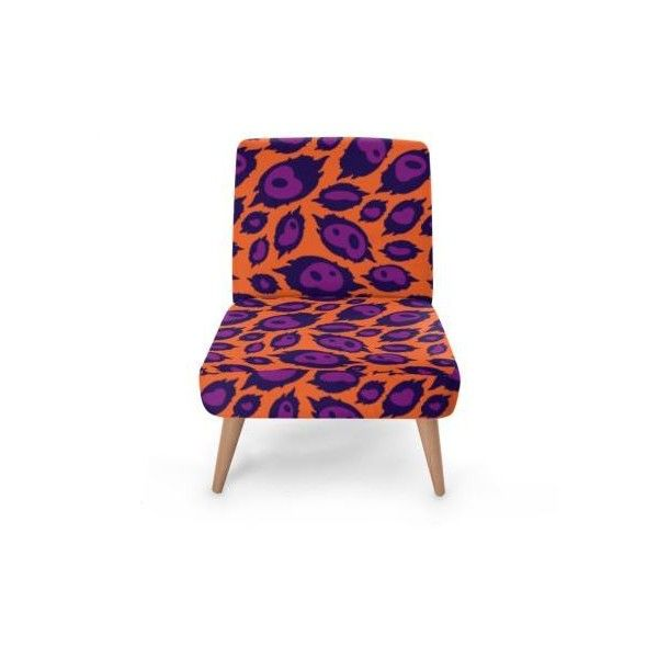 The African Leopard Peony Occasional Chairs Liked On