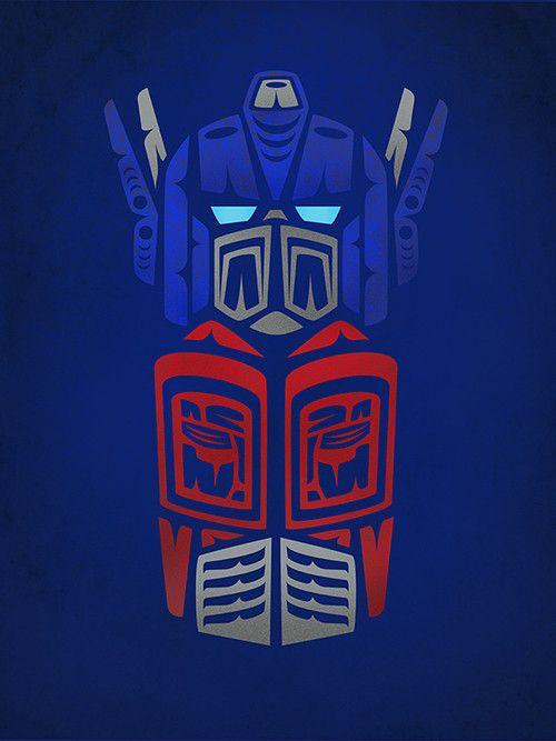 Optimus Prime by Jeffrey Veregge