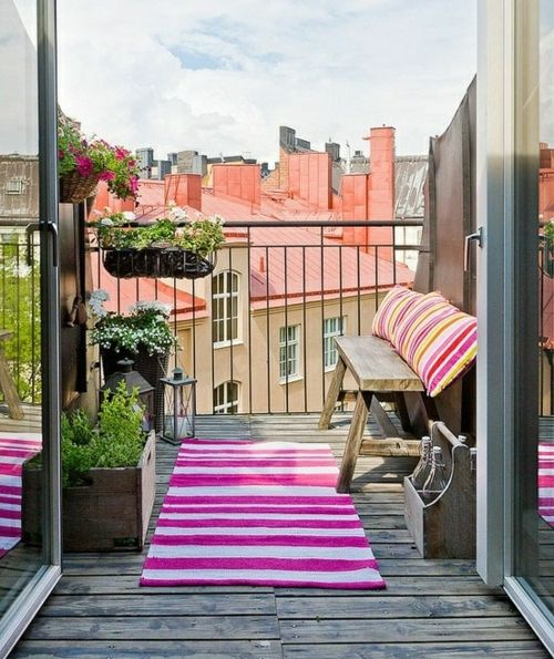 Balkon Ikea Ideen Blumenkästen Teppich Design Ideen Terrasse - balkon ideen blumenkasten gelander