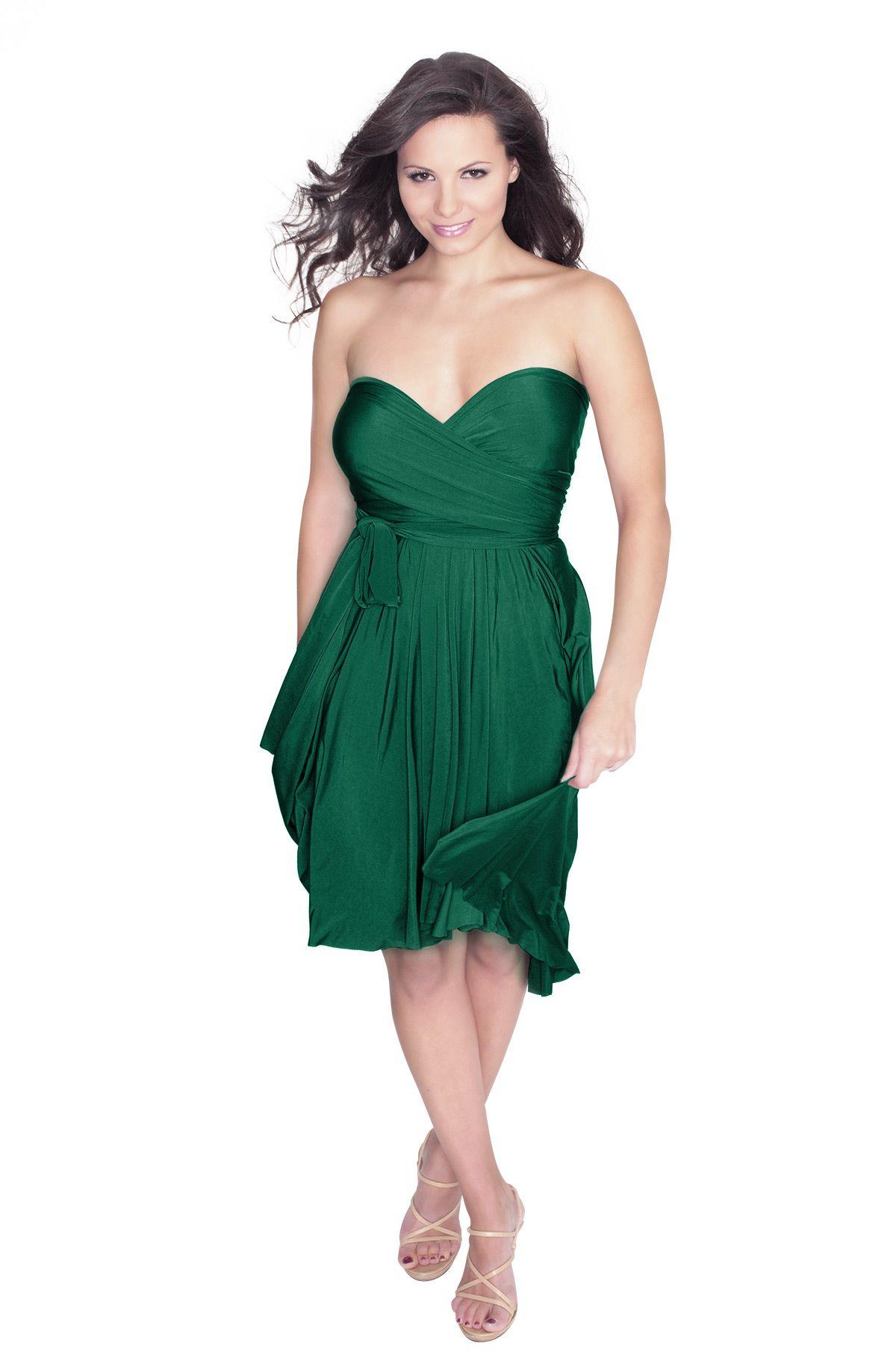 5a138df90844 Sakura Emerald Green Midi Convertible Dress - Henkaa Cute Jackets, Convertible  Dress, Royal Blue