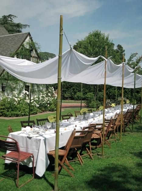 Best 25 Diy Outdoor Party Tent Ideas On Pinterest
