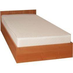 Einzelbett / Gästebett Corrientes 16 inkl. Lattenrost, Farbe: Erle – 90 x 200 cm (B x L) Easy…