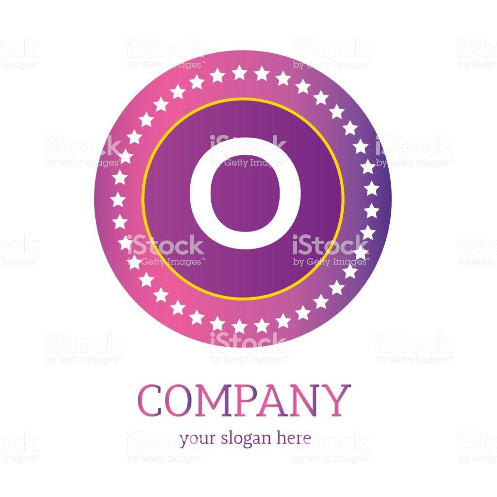 O letter logo design. O icon. colorful and modern logo design, O ...