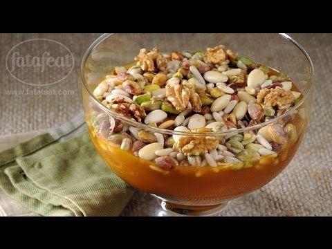 خشاف نقوع بقمر الدين تسلم الأيادي 3 فتافيت Middle Eastern Desserts Arabic Food Recipes