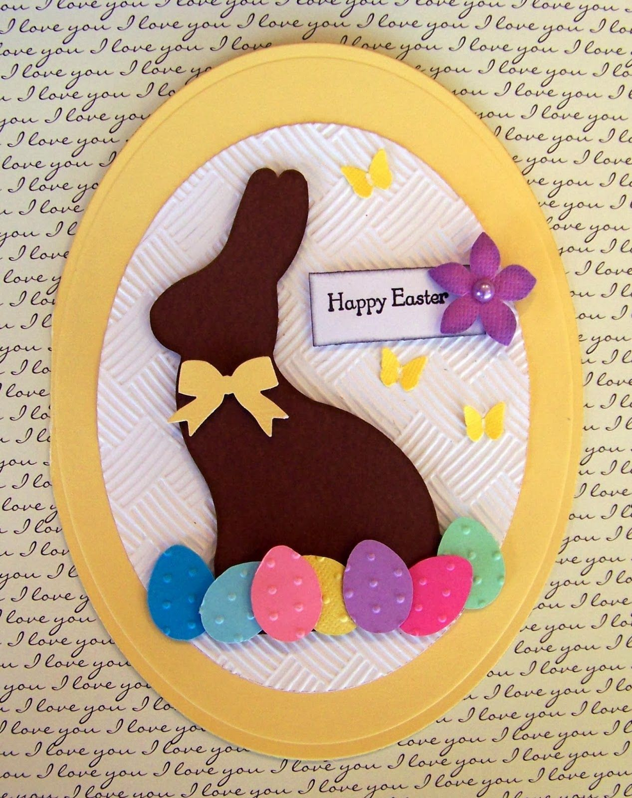 Ideas For Making Easter Cards Part - 36: DIY Easter Cards II