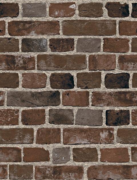 Bc1581946 brown and black brick wallpaper sf084911 for Black brick wallpaper bedroom