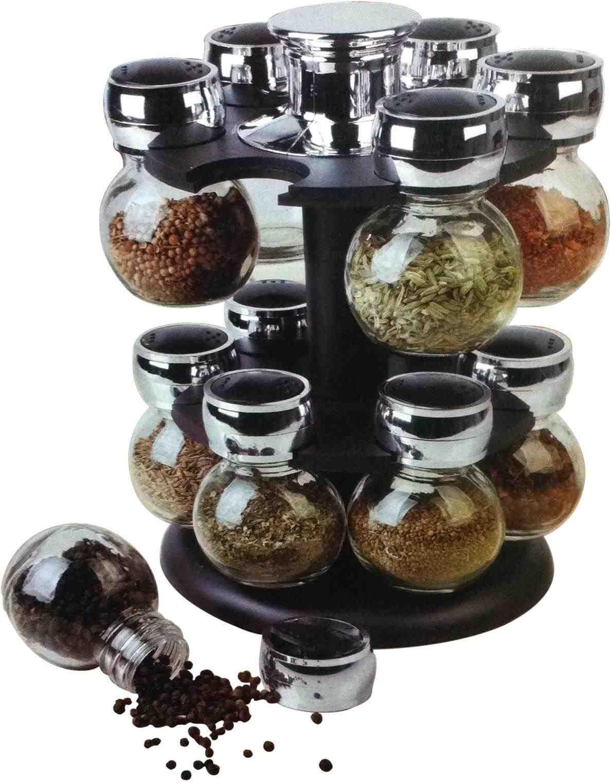 New Post Black Storage Jars Tea Coffee Sugar