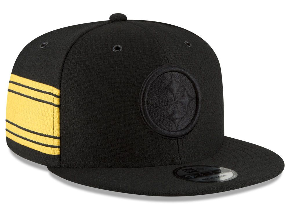 Pittsburgh Steelers New Era 2018 Official NFL Color Rush 9FIFTY Snapback Cap aaed40c7839