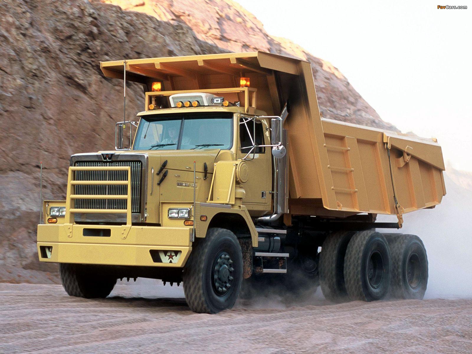 Western Star 6900xd Dump Truck 2008 Dump Trucks Trucks Offroad