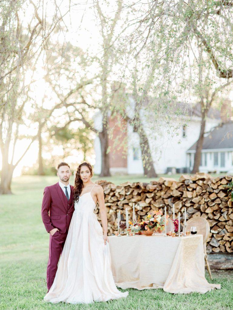 Catherine + Jordan\'s Blue Bell Farm wedding in Fayette, Missouri by ...