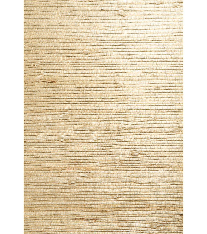 Bing Qing Beige Grasscloth Wallpaper Wallpaper samples