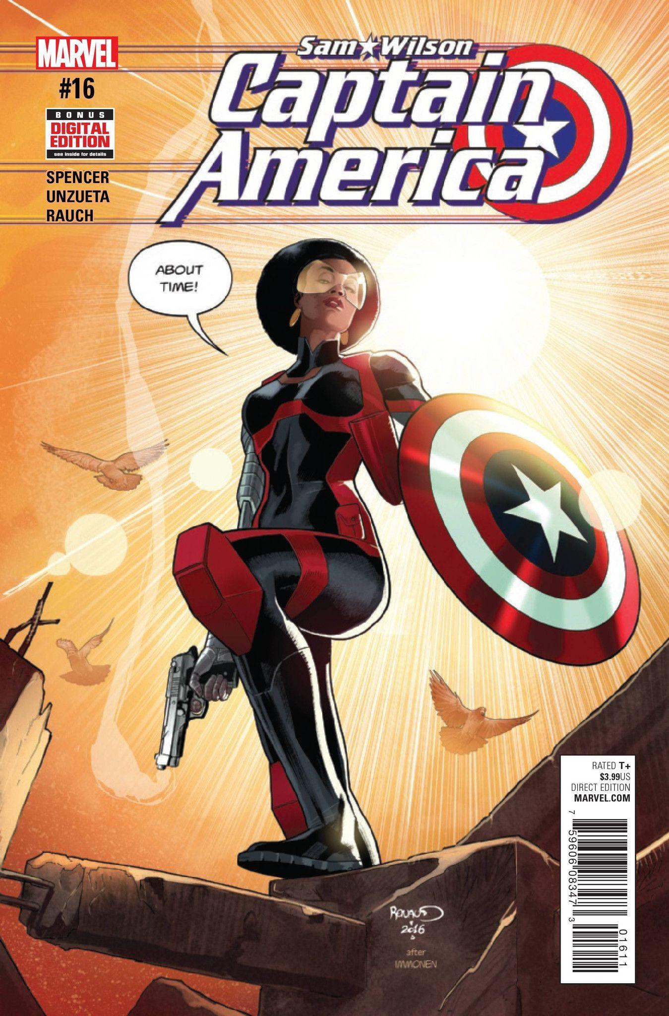 captain america sam wilson #16 | comic books | misty knight