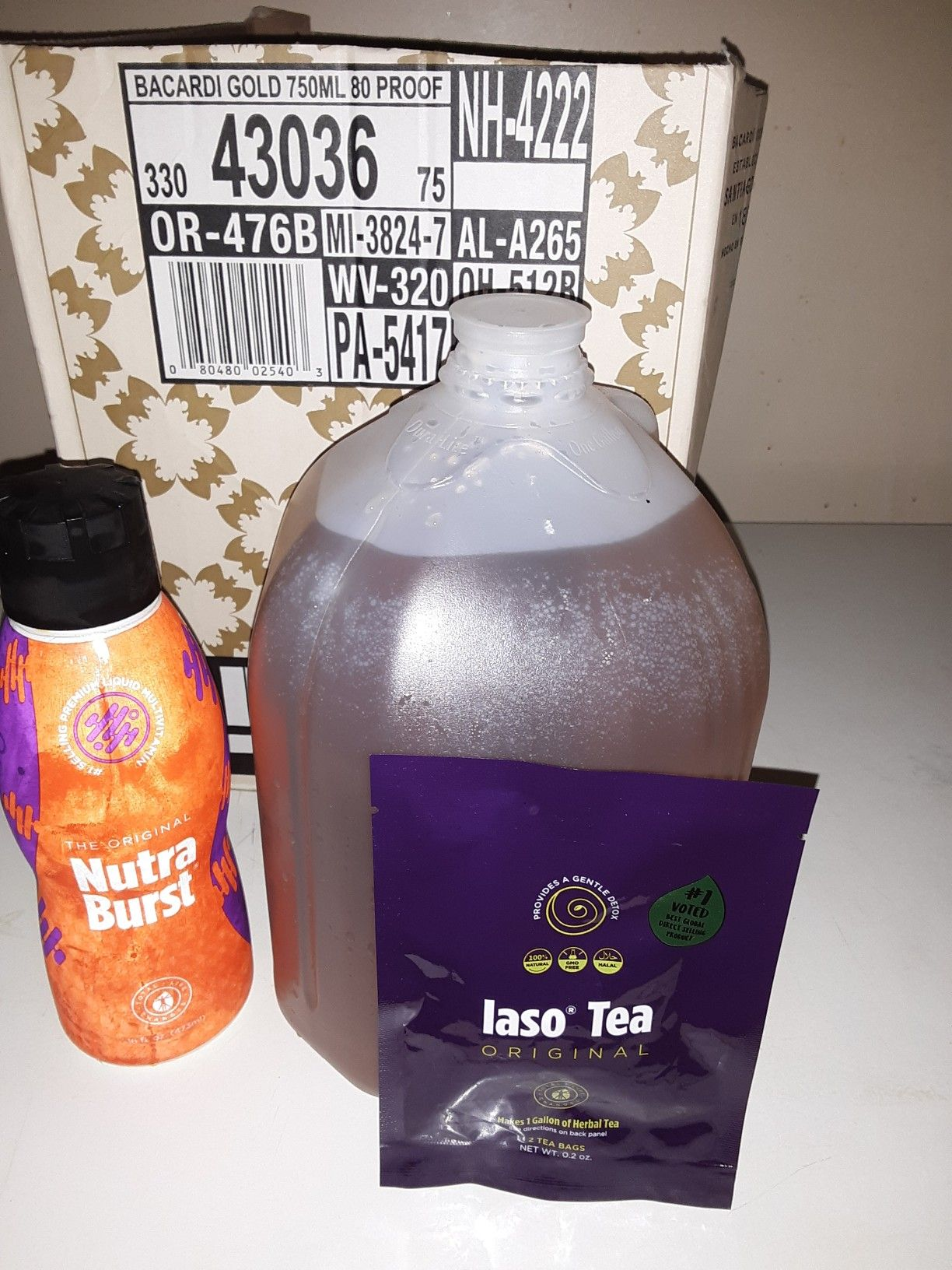 A Great Way To Start The Morning One Glass Of Iaso Tea And A Tbsp Of Nutra Burst That S 11 Vitamins 72 Nutr Total Life Changes Home Health Remedies Iaso Tea