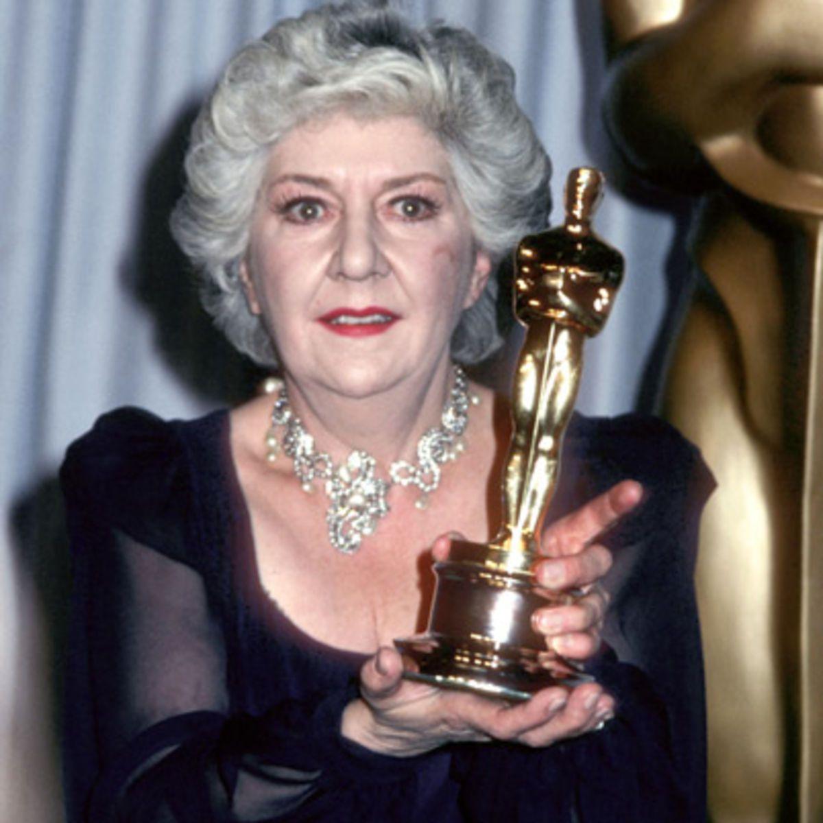 "Maureen Stapleton - Best Supporting Actress ""Reds"" 1982.   Attrice, Oscar,  Cinematografia"