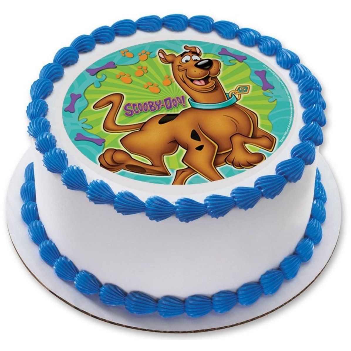 Scooby doo 75 round edible cake topper each edible