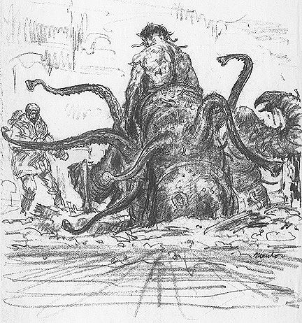The Thing - Mike Ploog - massive thing.