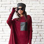 8985d8918a6 Стильное красное платье
