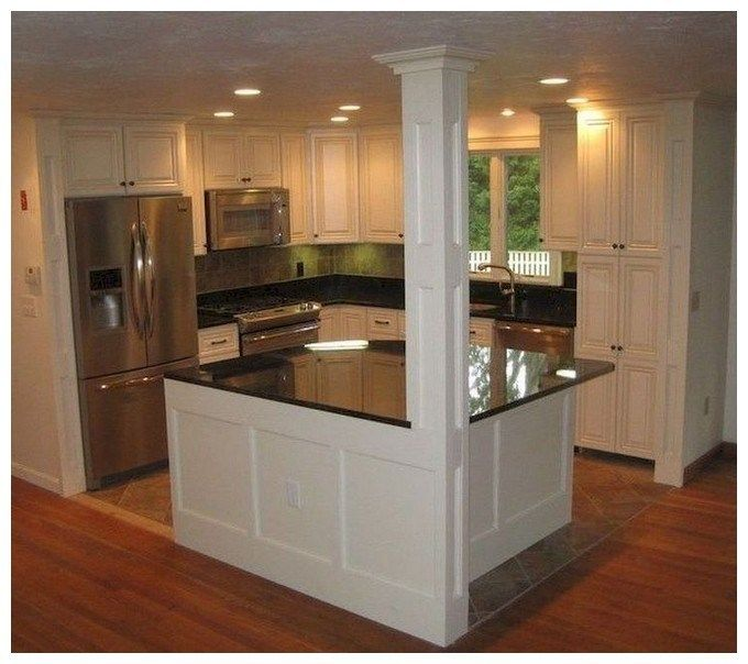 50 Unique Small Kitchen Design Ideas For Your Apartment #smallkitchenremodeling
