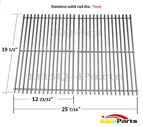 Hongso Scg528 Aftermarket Bbq Barbecue Replacement Stainless Steel Cooking Grill Grid Grate For Weber Genesis E Outdoor Cooking Barbeque Utensils Outdoor Grill