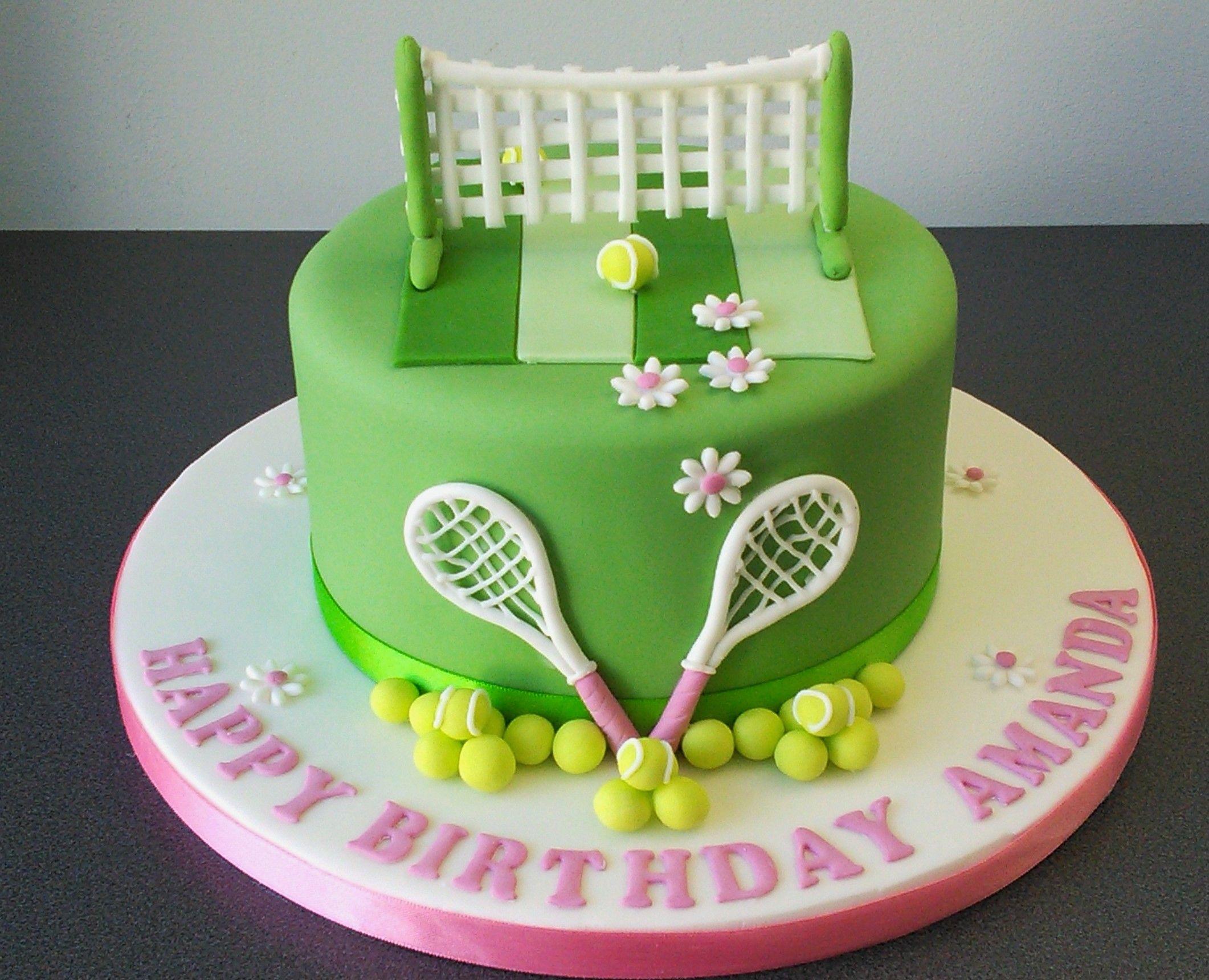 Tennis Theme Birthday Cake Tennis Cake Golf Birthday Cakes 14th Birthday Cakes