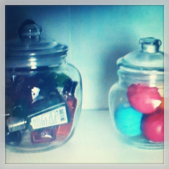 DIY Candy Jar organizer by Bethany Mota YouTuber Go watch the