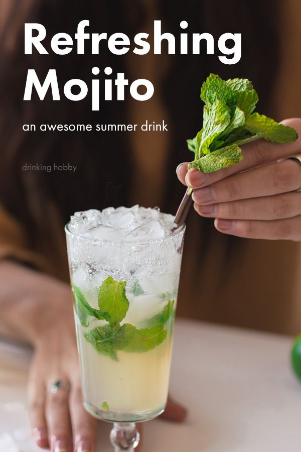 Incredible Mojito Recipe Ingredients What Rum And How To Make It Recipe Mojito Easy Drink Recipes Fruity Drink Recipes