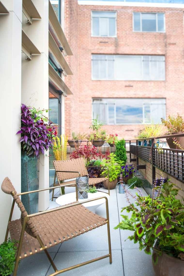 Deco Balcon Et Terrasse D Appartement En Ville Terrasse Balcon