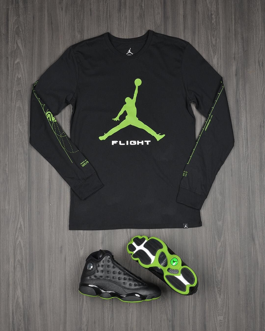 cc2225d0f42 Air #Jordan 13 Altitude Collection: Pick up the new #Jordan 13 Altitude  Long Sleeve. Available in stores now.