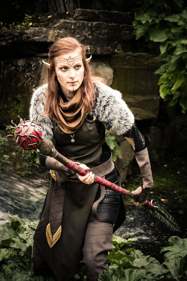 The Mage By Pincushionqueenx Dragon Age Series Elf Cosplay Dragon Age