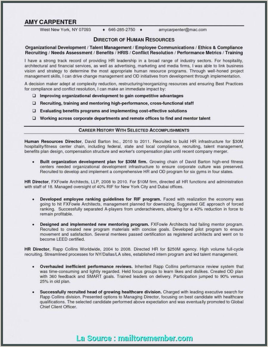 Exemple De Cv Pdf Tunisie in 2020 Resume writing