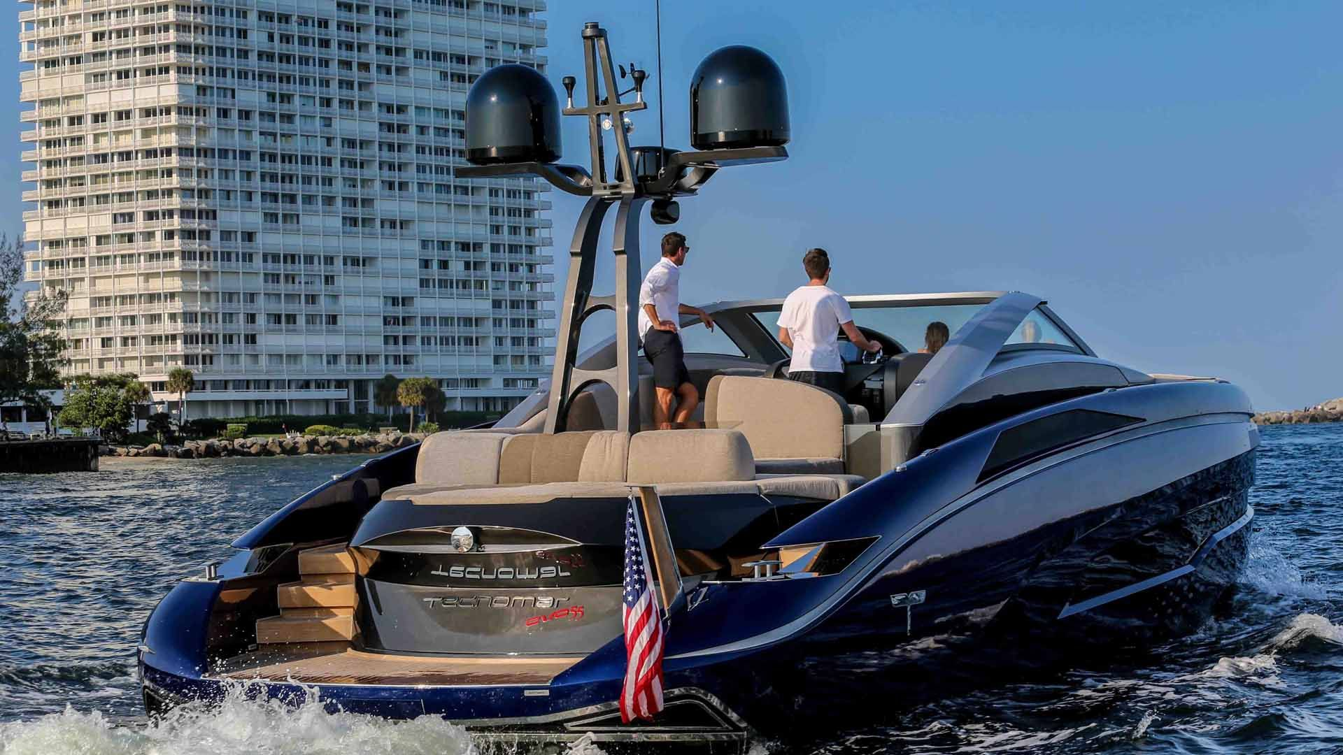 Evo 55 Motor Yacht 2015 Tecnomar Exterior501 Exterior 41 Open Yacht Yacht Boat Yacht