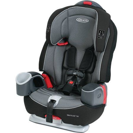 Graco Nautilus 65 3 In 1 Harness Booster Car Seat Bravo Gray