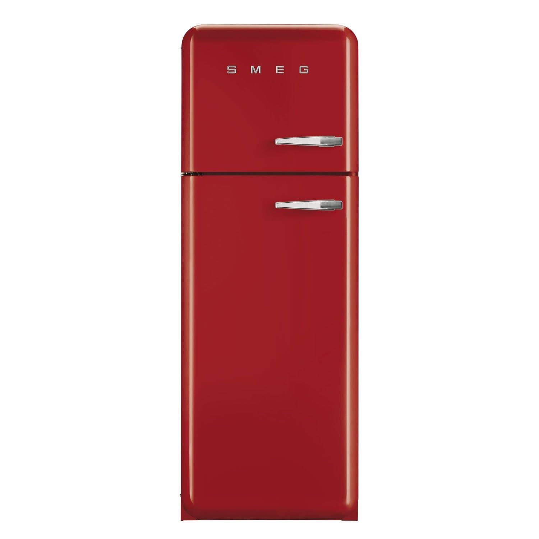 Smeg Fab30lfr 50 S Retro Style Red Fridge Freezer Retro Style