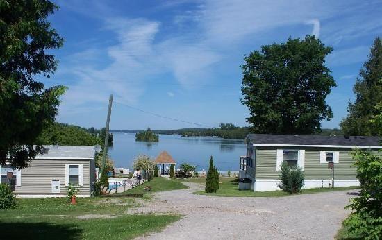 Peterborough, Canada: View of Chemong Lake