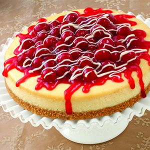 Image result for images of cherry cheesecake