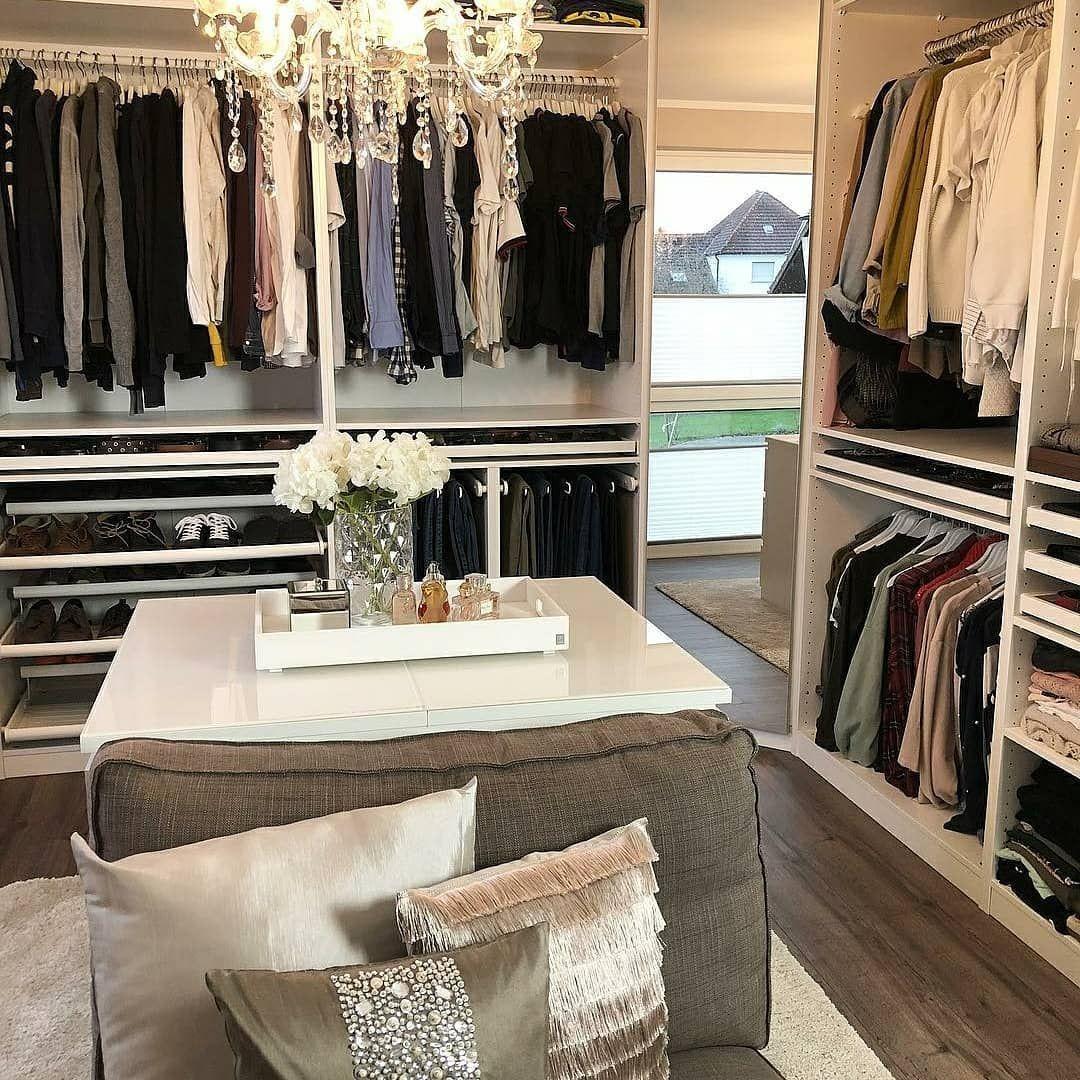 Closet Ankleiderzimmer Ankleide Zimmer Ankleideraum Design