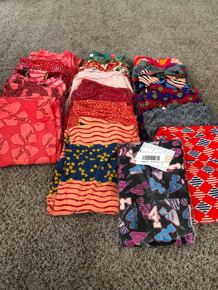 Women's Clothing Clothing, Shoes & Accessories Fashion Style Lularoe Tc Leggings Lot