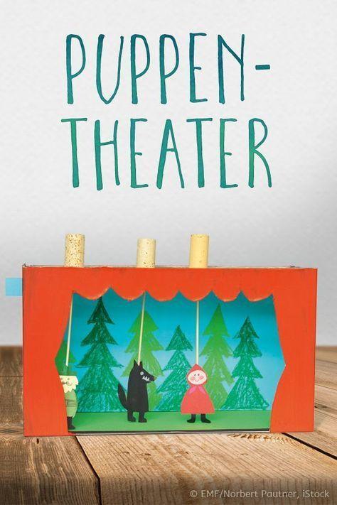 Puppentheater basteln: Ein eigenes Kasperltheater | familie.de