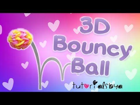 New 3d Bouncy Ball Monster Tail Rainbow Loom Tutorial Monster Tail