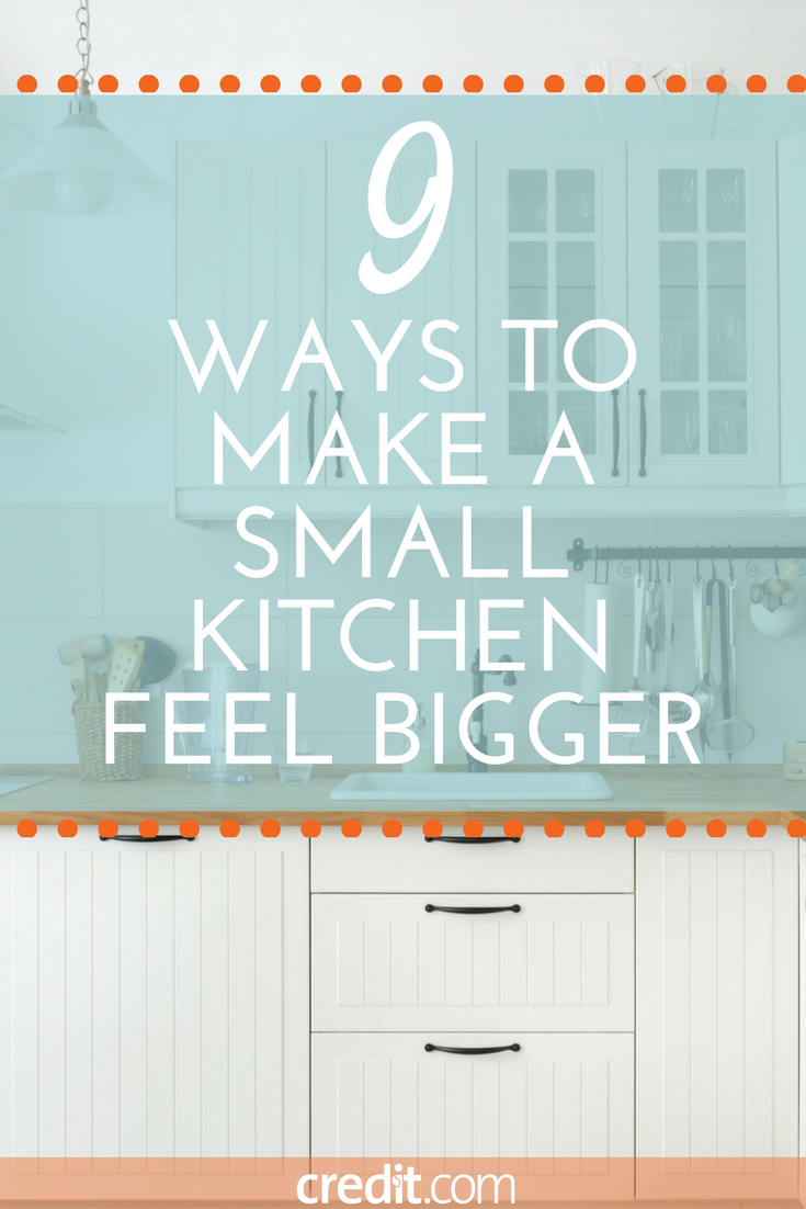 9 Ways to Make a Small Kitchen Feel Bigger - Kitchen Hacks for Tiny ...