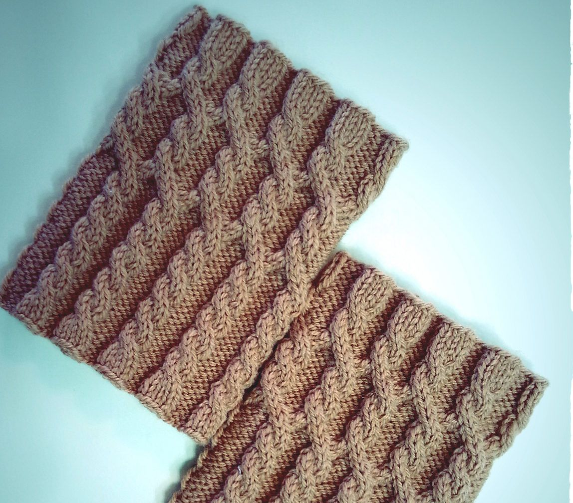 Free Knitting Pattern for UGG HUG Boot Toppers | KNITTING & some ...