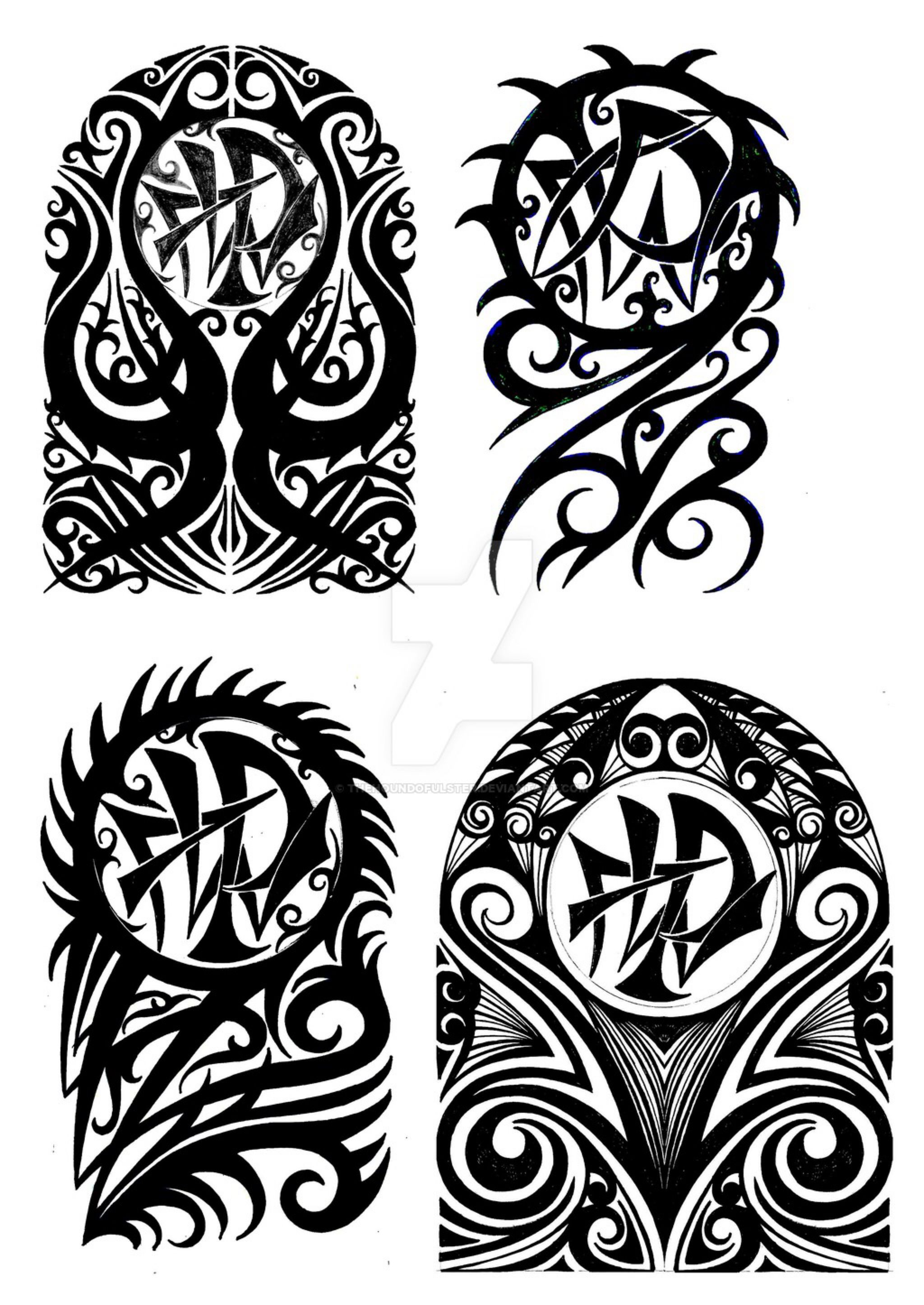 6473ebb26 Tribal halfsleeve tattoo designs by thehoundofulster on @DeviantArt ...