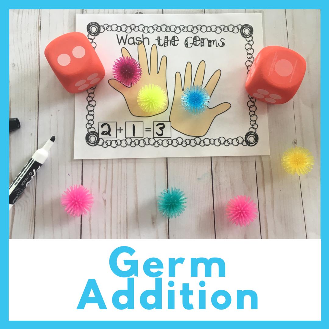 Human Body Math And Literacy Centers For Preschool Prek And Kindergarten Germs Preschool Activities Germs Preschool Preschool Projects [ 1080 x 1080 Pixel ]