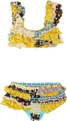 ccbada2f63e ShopStyle: Missoni Hidalgo ruffled crochet-knit bikini   GYPSY STYLE ...