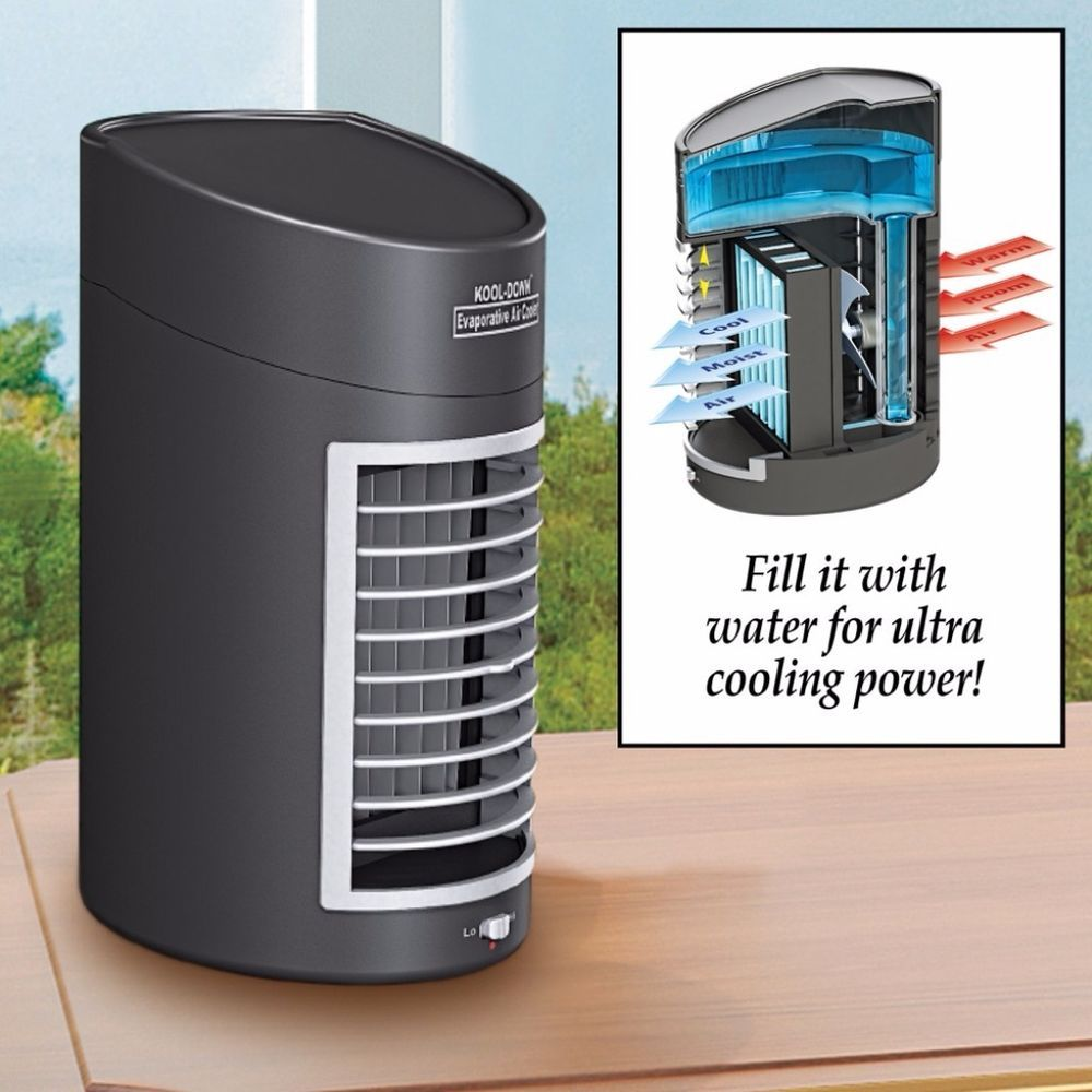 Portable Ultra Cooling Power Fan Large Removable Tank with